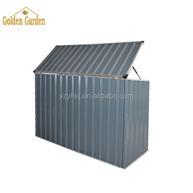 SUE outdoor metal garden bike shed steel garden storage box bike storage box outdoor storage box