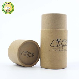 China popular recycled round paper tubes with aluminium-foil paper for food