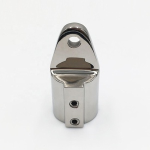 AISI316 stainless steel marine hardware Good quality Boat Bimini Top cap