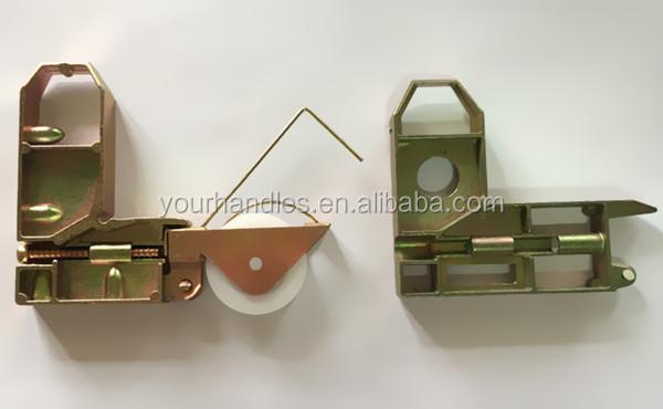 Sliding Screen Door Roller,corner Bracket With Nylon Roller,steel Patio  Door Roller