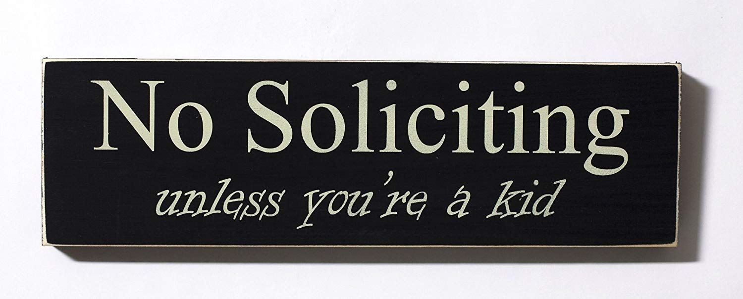 picture regarding Printable No Soliciting Signs known as Affordable Printable No Soliciting Doorway Indicator, come across Printable No
