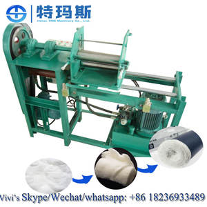 Medical Cotton Wool Rolling Make Machine