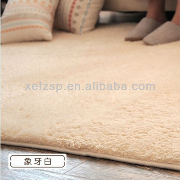 100% polyester adult bedroom mat ultra soft