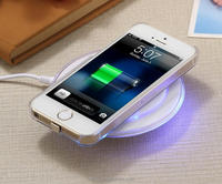 Hot portable Factory price UFO qi wireless charger pad with qi wireless charging