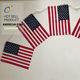 China Factory canada usa 3x5ft red line american flag