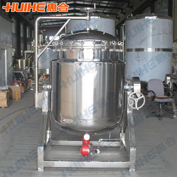 Meat Making Machine High Pressure Cooking Pot For Bone