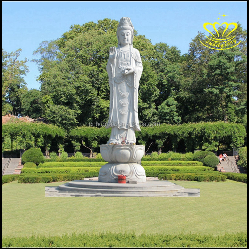 The outdoor large figure of Buddha Guanyin Buddha Buddha sculpture earth treasure bodhisattva