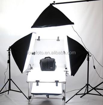 2015 new pro portable lighting studio kit for small product shooting