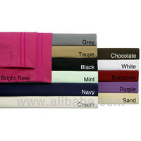 Microfiber Embroidered Sheet Sets