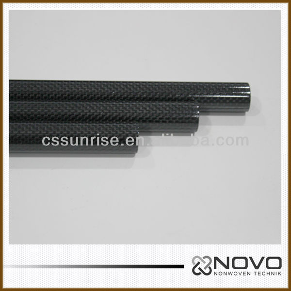 1000mm <strong>carbon</strong> fibre tube for RC Quadcopter Multicopter Helicopter ARM 27mm*30mm*1000mm