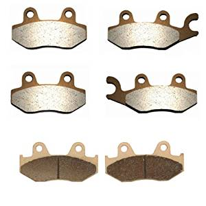 2006-2013 Yamaha YFZ450 Sintered HH Front & Rear Brake Pads