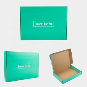 Custom Printed Folding Cardboard Transport Packaging Hat Box, High Quality clothing Box, Box for garment packing