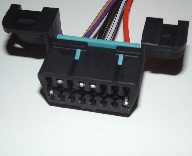 Obdii Obd2 Aldl Wiring Harness Connector Pigtail For Gm Ls1 Lt1 Camaro on