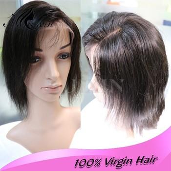 Dreadlocks Wig Lace Front Wig Human Hair Short Bob Lace Front Wig