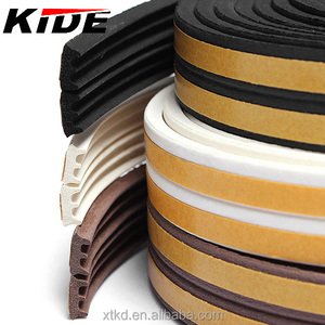EPDM E Profile Rubber foam seal