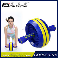 Factory Direct Sale Impact Fitness Equipment Patented Designed Heavy Duty Adjustable Original Ab Roller