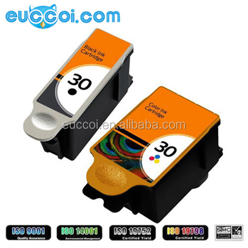 new arrival 30BK (KD30BK) 30C (KD30C) new color replace print ink cartridge with chip for Kodaks ESP C310 315
