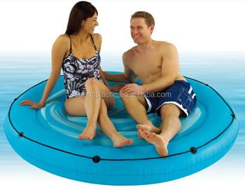 Grande piscina di acqua gonfiabile isola galleggiante for Isola gonfiabile piscina