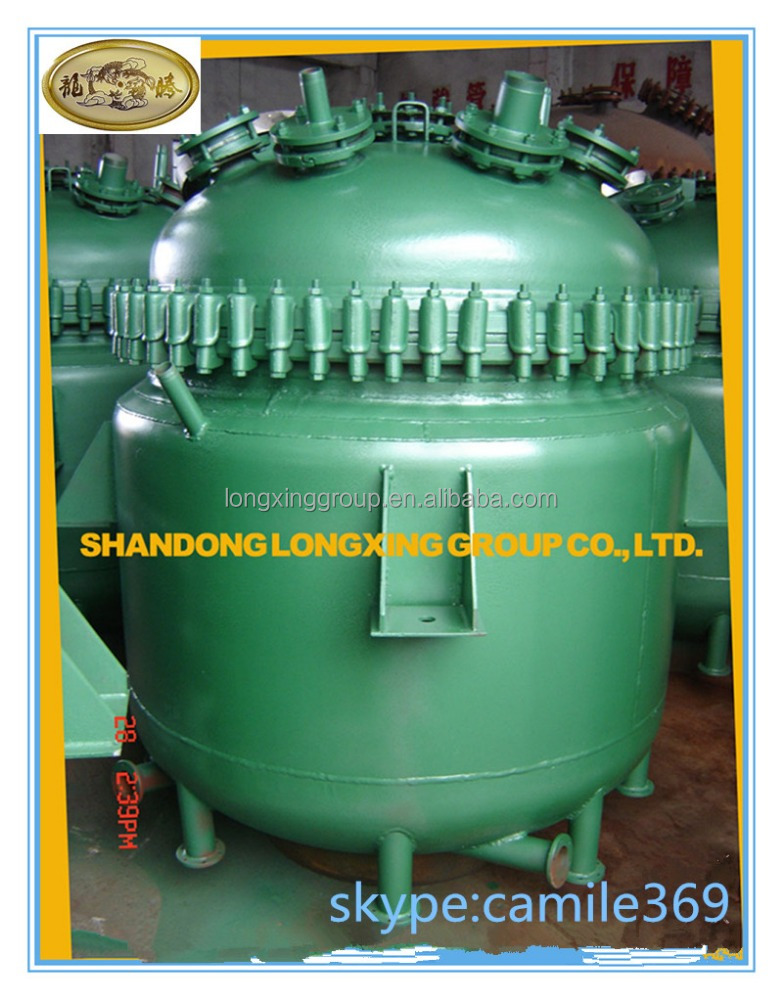 1000l reactor high pressure laboratory teflon lined reactor