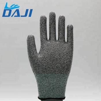18G HPPE Anti-cut other safety work Gloves