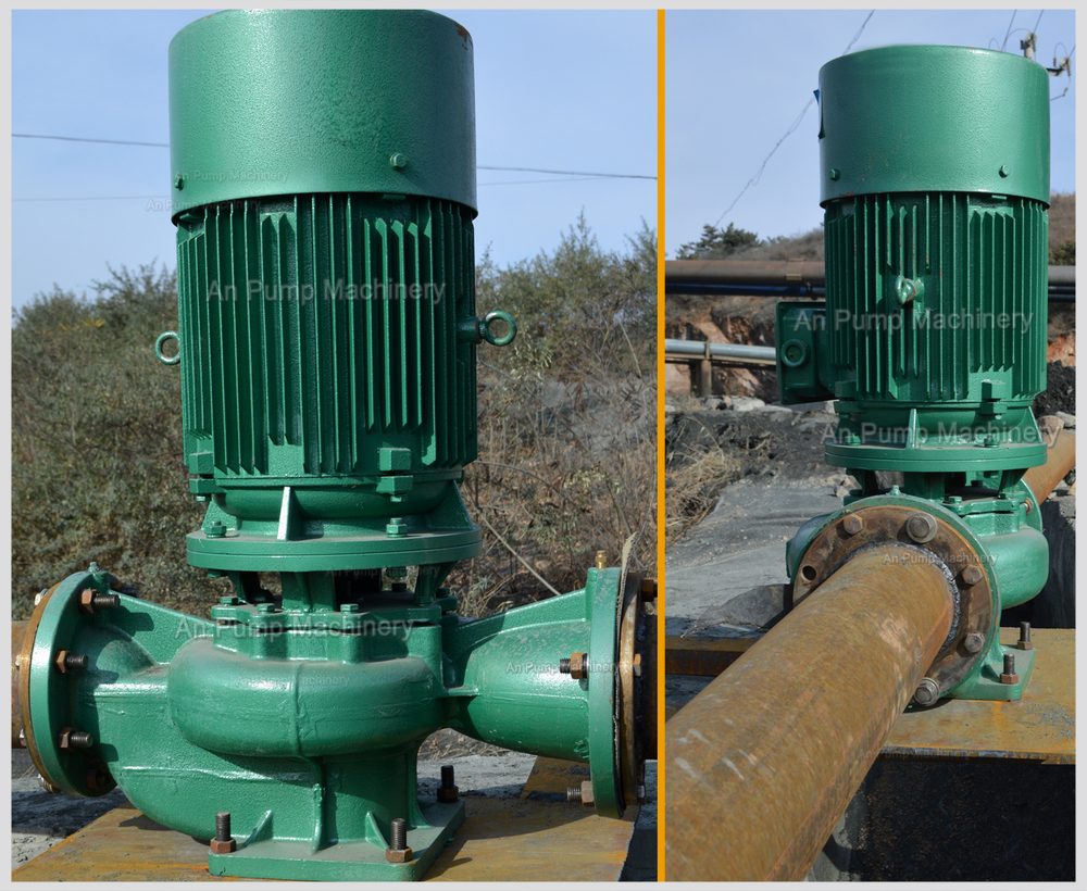 Constant Pressure Inline Water Feed Booster Pump Vertical