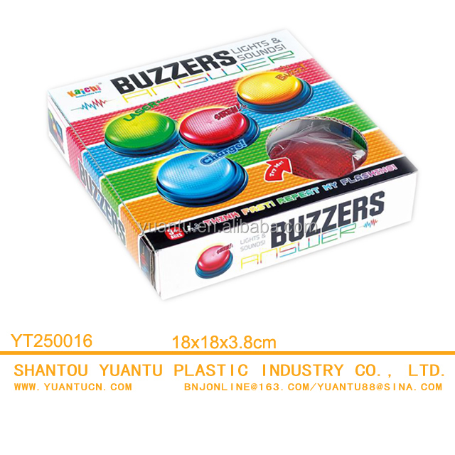 2018 hot-selling Competition Buzzers Game Toys Family quiz game buzzers Toy