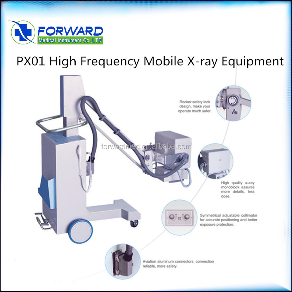 High frequency hospital irradiation device 500mA x-ray machine / x ray equipment prices