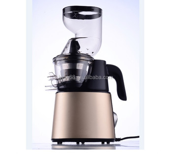 New Big Mouth Stainless Steel Slow Juicer With AC Motor