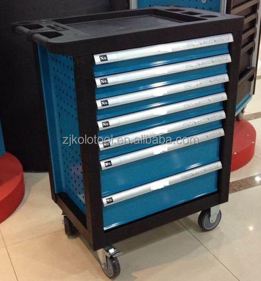 7 Drawers Hot Sale In Eu Kraft Tool Box Roller Cabinet For