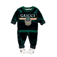 2018 Trending Products Eco-Friendly 100% Organic Cotton 2 Pieces <br/>Casual style boys clothing sets