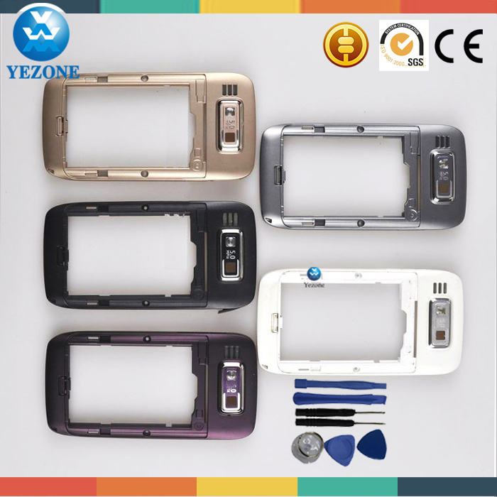 For nokia E72 phone cover replacement, complete phone case faceplate for nokia E72 accessories