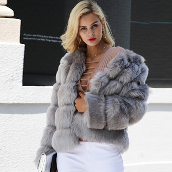 9e5dd689754 Wholesale New Design Winter Faux Fur Coats For Women And Girls - Buy ...