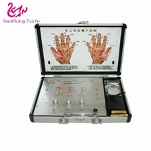 Hand acupoint therapy machine body health diagnostic