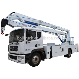 2018 new white 22m folding jib high aerial working platform truck/high-altitude operation truck price