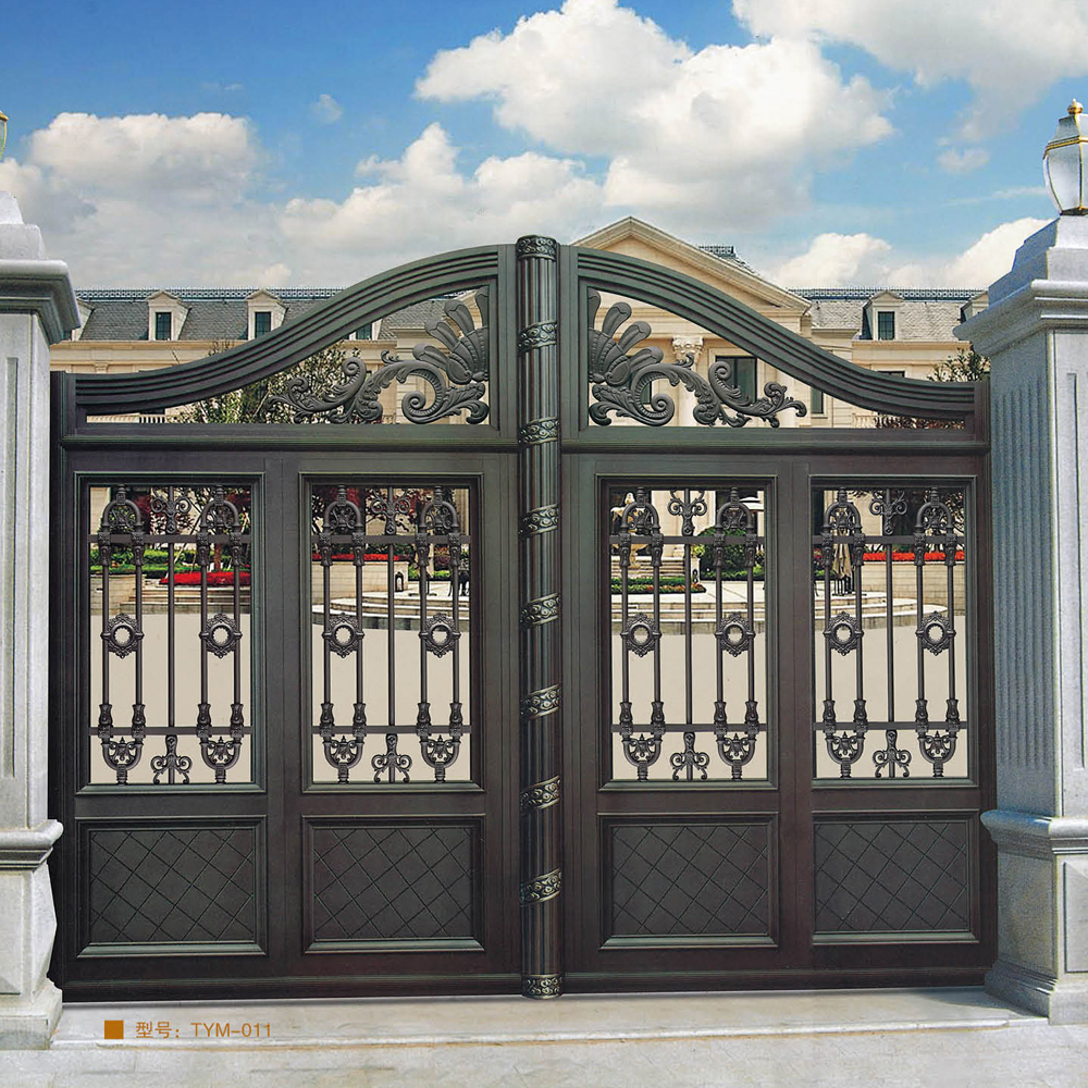 Nice design of school gate swing style buy main gate design home product on alibaba com