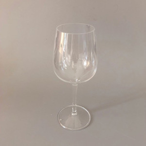 Antique silver wine glass