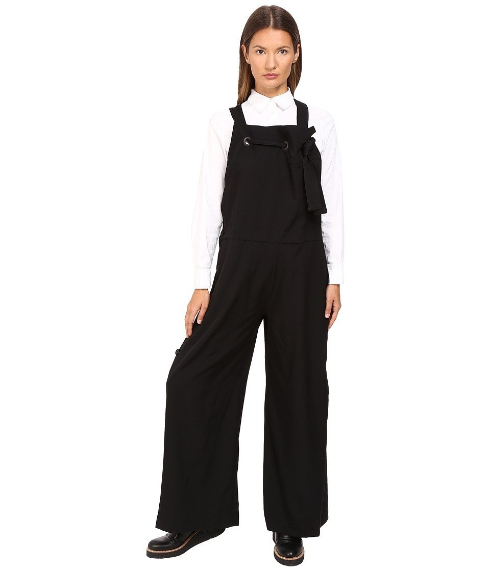 de376be3547 Get Quotations · Y s by Yohji Yamamoto Salopette Overalls Black Women s  Overalls One Piece