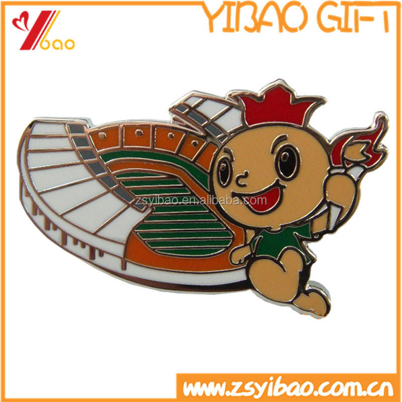 Factory custom cheap high quality enamel metal lapel pins, soft enamel/hard enamel lapel pin