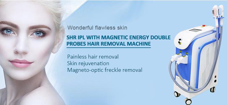 Professional 360 magneto-optical elight ipl shr e light hair removal machine