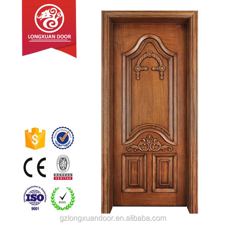Villa Luxury Single Entry Wood Door 48 Inches Exterior Doors With