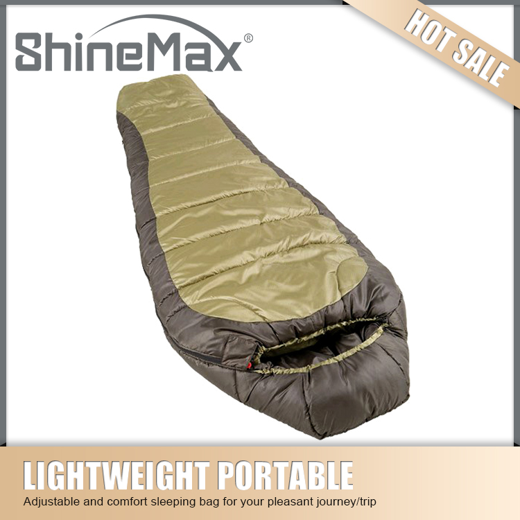 extreme cold weather duck down mummy sleeping bag