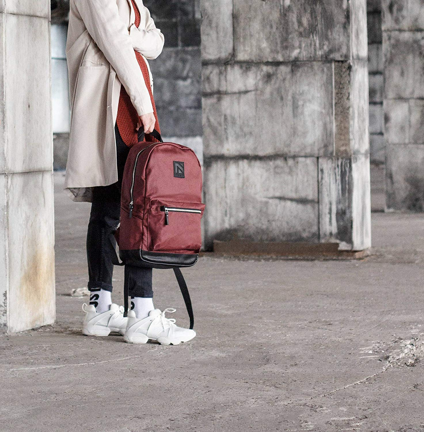 Get Quotations · Red Backpack, Laptop Backpack, Backpack, Rucksack, Womens  Backpack, Cool Backpack, f9268aac7d