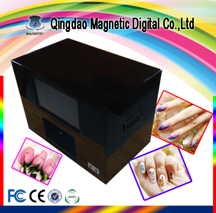 Digital Finger Nail Printer Nail Flower Printing Machine Price for Sale