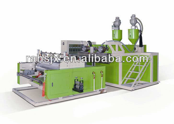 LYM-500X2 Double Layers extruder Stretch Casting Film Machine