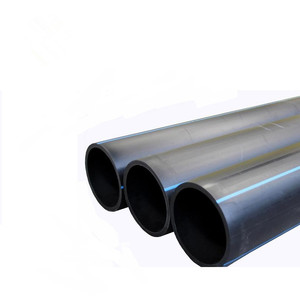 2 4 6 Inch hdpe polyethylene water supply pipe