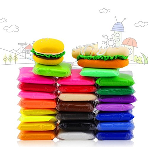36 Color Air Dry Super Light DIY Clay Craft Kit Modeling Clay Artist Studio