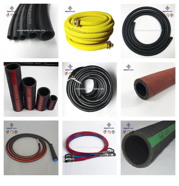 Superior spiral heat proof oil transmission dispenser pump rubber hose bulk