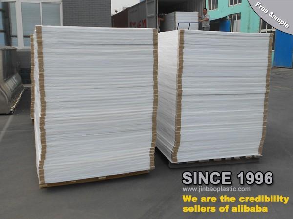 Pvc Rigid Sheet Plastic Foam Board For Waterproof Bathroom Cabinet 4 39 X8 39 Buy Pvc Rigid Sheet