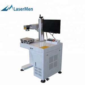 jinan 20w 30w 50w metal fiber laser marking machine with JCZ control card