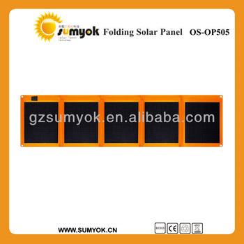 Os Op505 Superior Foldable Solar Panel 50w 12v Handy Super